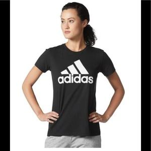 Adidas Women's Classic Sports Logo Tee